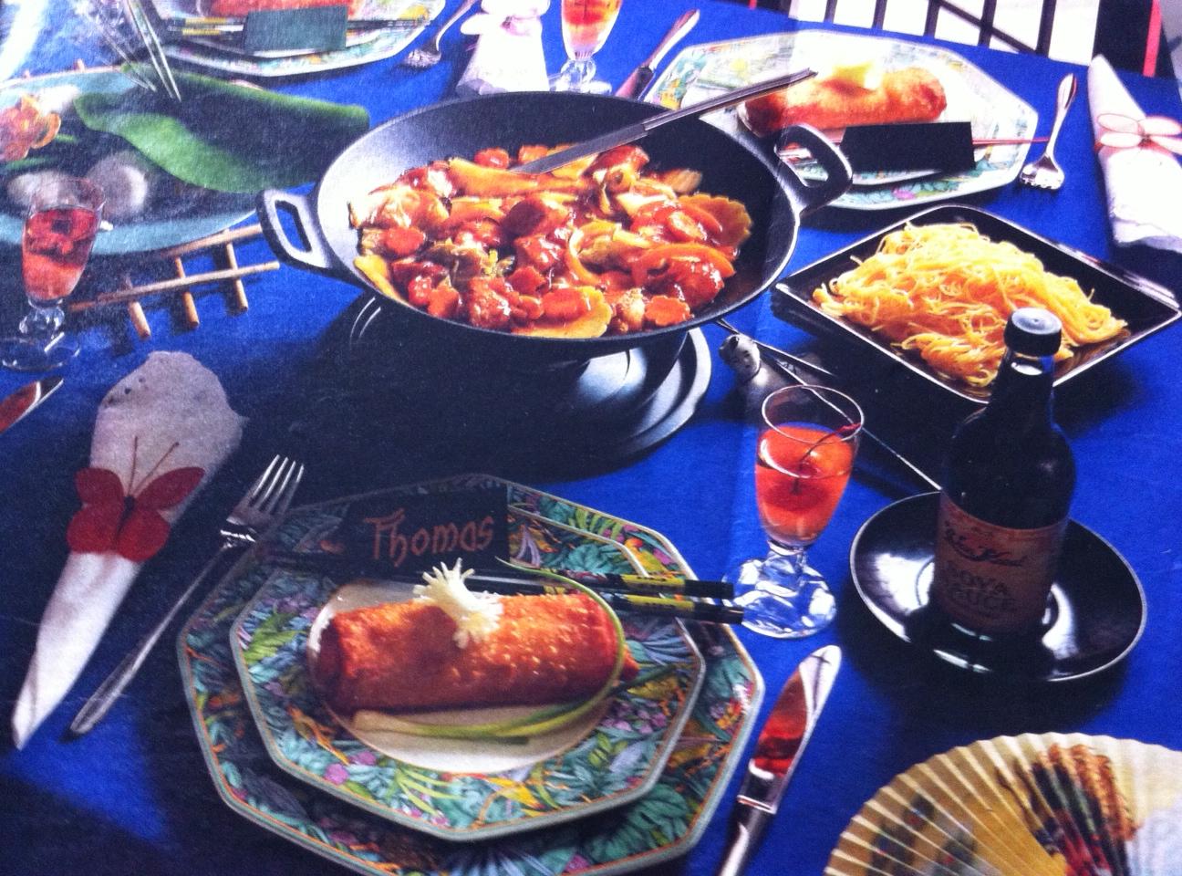 Recetas de delicias deliciosa receta de pollo al s samo - Cocinar con wok en vitroceramica ...