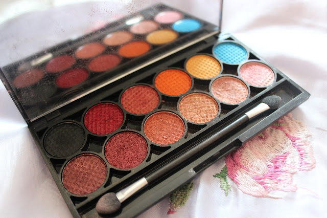 sleek idivine sunset eyeshadow palette