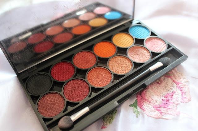 sleek idivine sunset eyeshadow palette