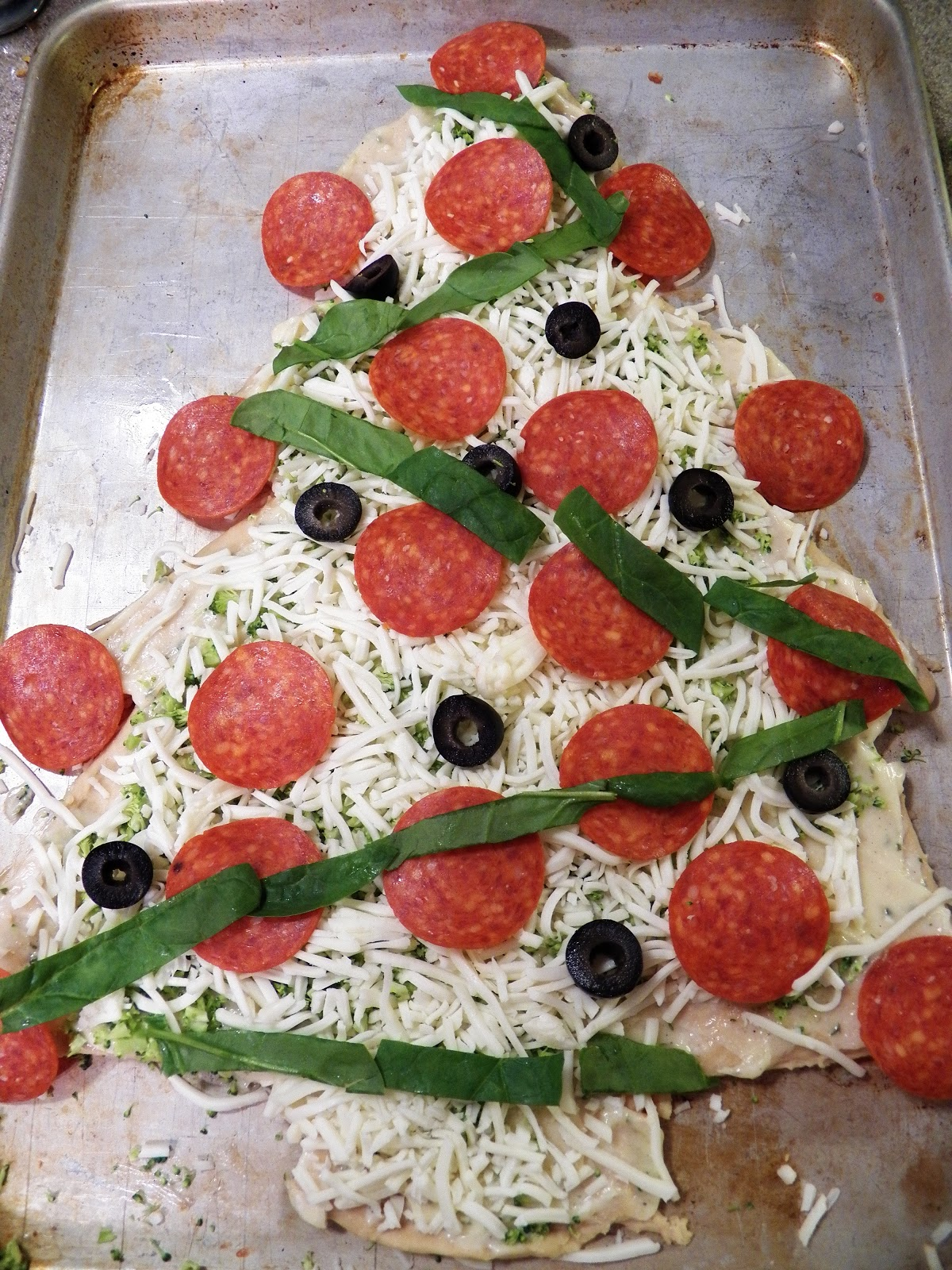 The Tasty Cheapskate: Christmas Pizza Ideas