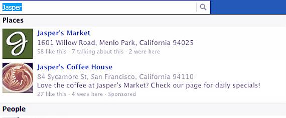 Facebook testeaza o noua functionalitate pentru companii: promovarea in cadrul rezultatelor la cautarile efectuate pe reteaua sociala