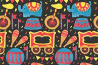 The Circus Pattern by Haidi Shabrina