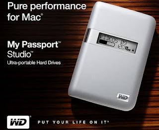 My Passport Studio hard disk