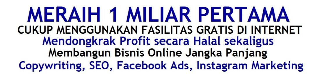 www.ahlibisnis.com | Kursus Bisnis Online untuk Pemula | Dari GRATISAN Omzet MILIARAN