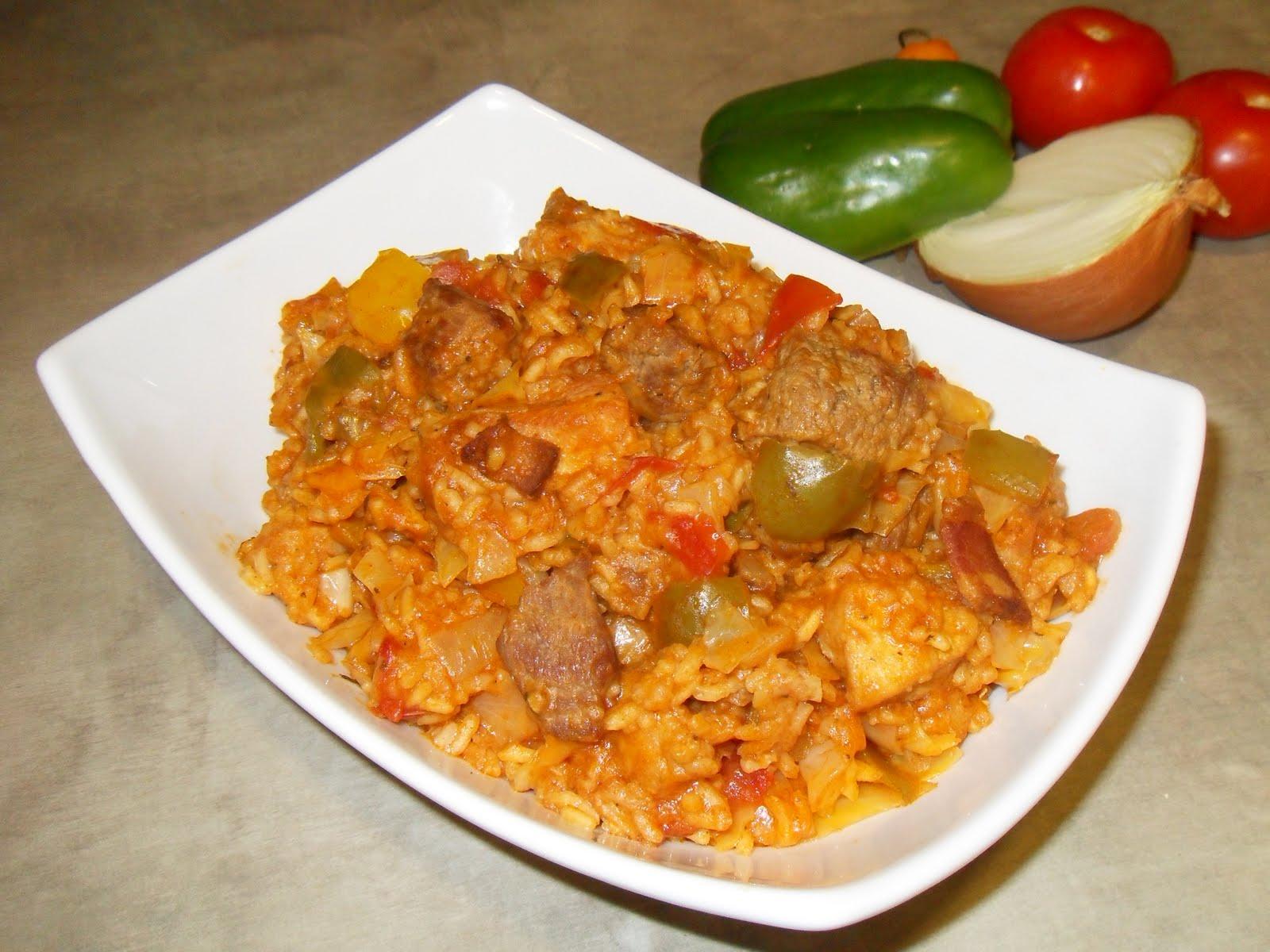 Liberian recipes jollofriceandavocadograpefruitpie100g forumfinder Image collections