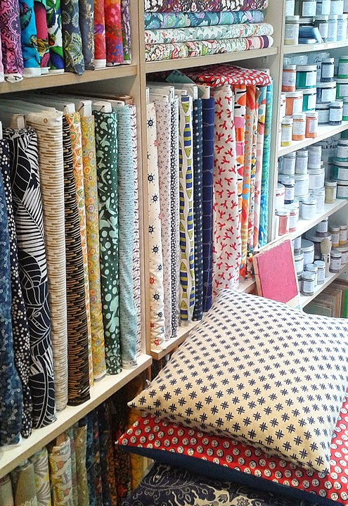 Yarn shops and fabric shops in Berlin, a creative guide | Happy in Red