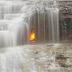 Misteri Api Abadi Di Bawah Air Terjun