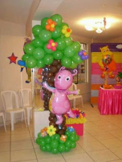 Children Parties, Backyardigans Decoration