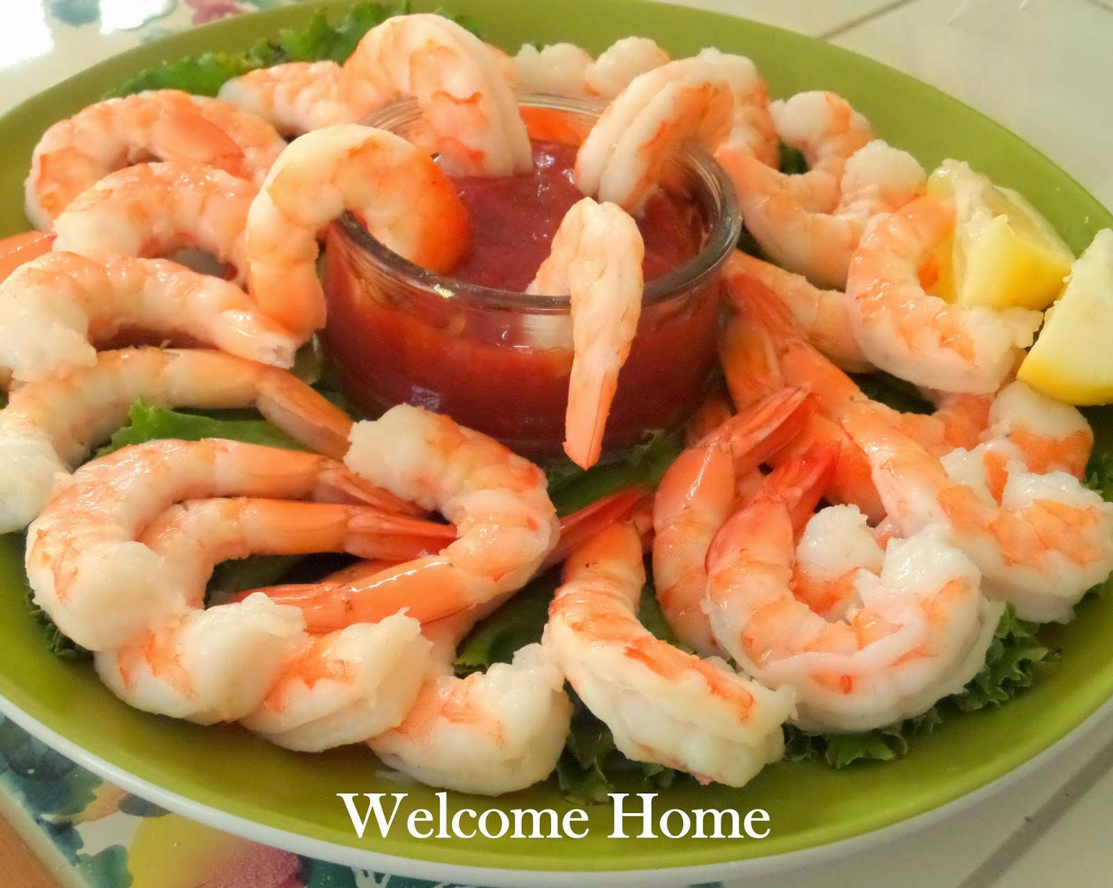 Welcome Home Blog: ♥ Shrimp Cocktail
