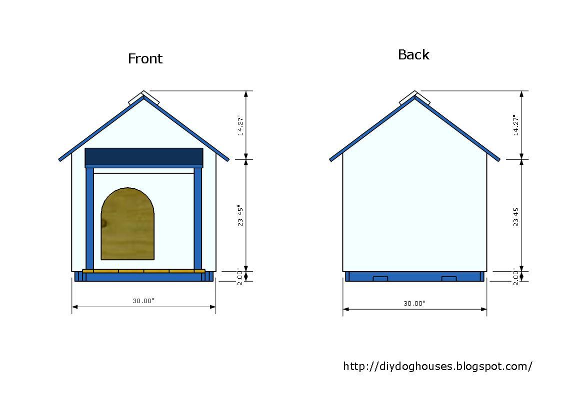 Dog house plans detailed instruction insulated dog house 1