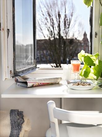I d e a aprovecha el espacio en la cocina - Mesas de pared abatibles ...