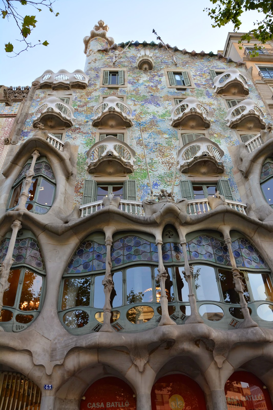 Casa Batllo Spain Antoni Gaudi Guadi Catalan architect