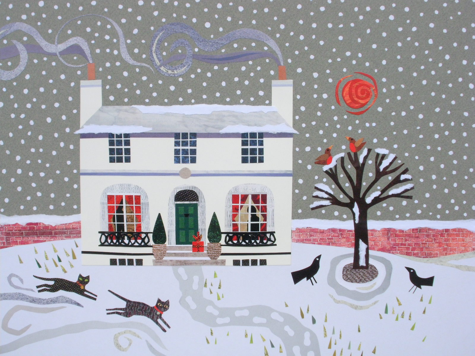 Amanda White - Contemporary Naive Art: Christmas cards