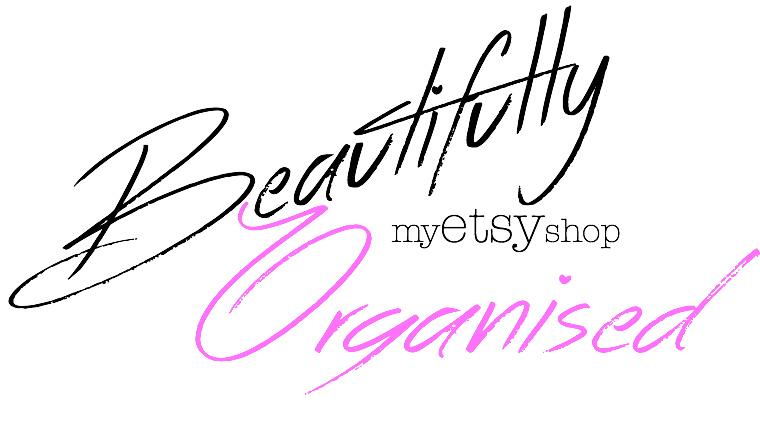 BeautifullyOrganised on Etsy
