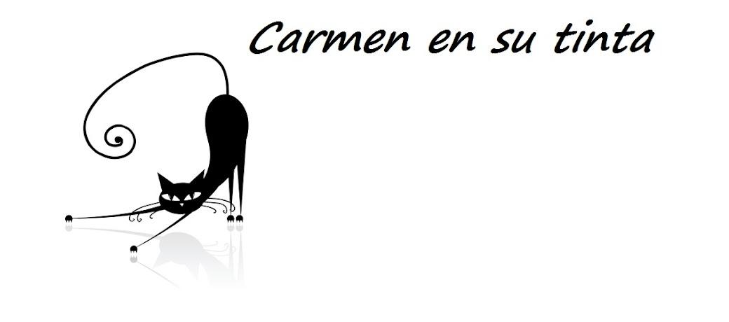 Carmen en su tinta