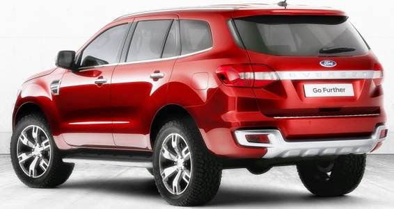 2014 New Ford Everest Concept