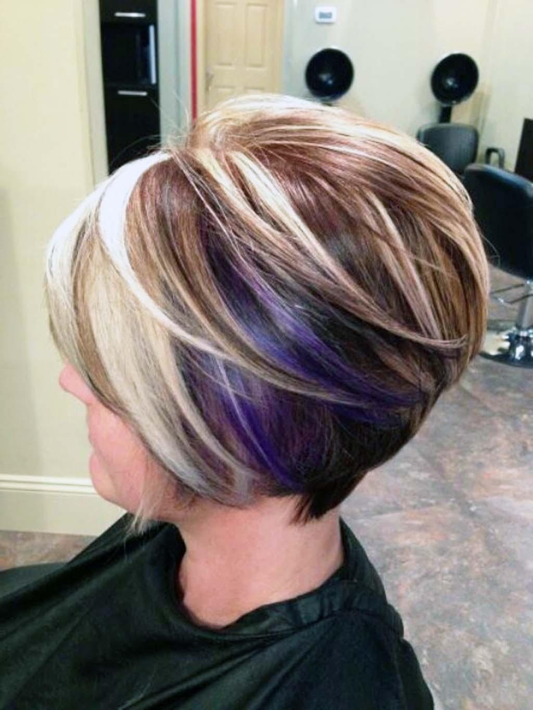 Окрашивание волос на стрижку каре