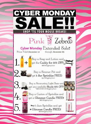Cyber Monday Pink Zebra Sale