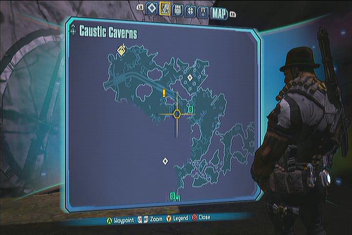 Caustic Cavern Vault Symbols Borderlands 2