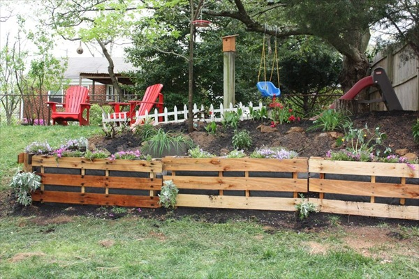 landscaping ideas using pallets - Garden Ideas Using Pallets