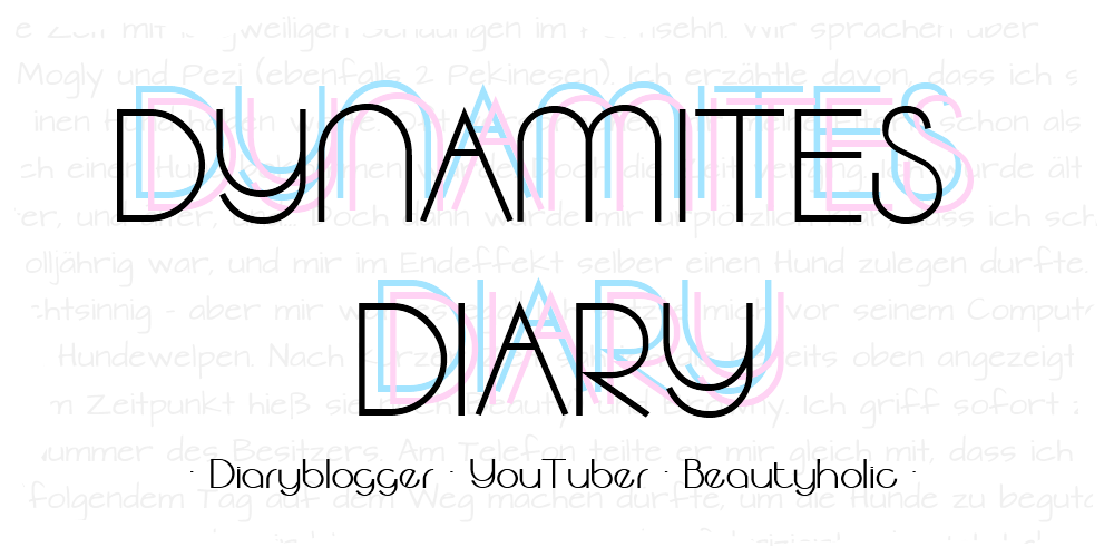 Dynamite's Diary