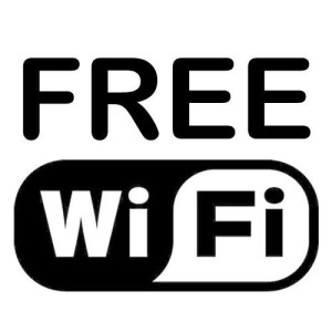 Free Wifi while you do your Laundry!