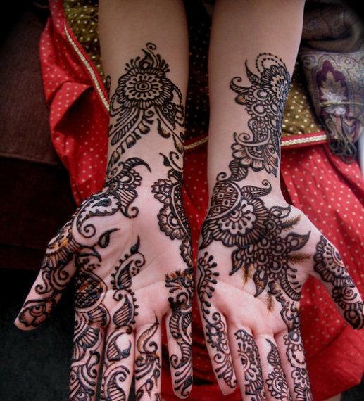 Simple Mehndi Cake : Pakistani mehndi designs wedding cakes henna tattoos