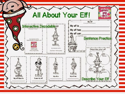 http://www.teacherspayteachers.com/Product/Elf-in-the-Classroom-1004194