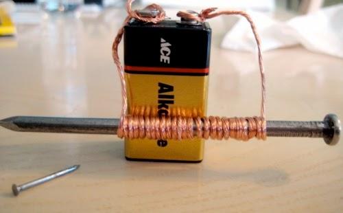 Cara Kerja Elektromagnet