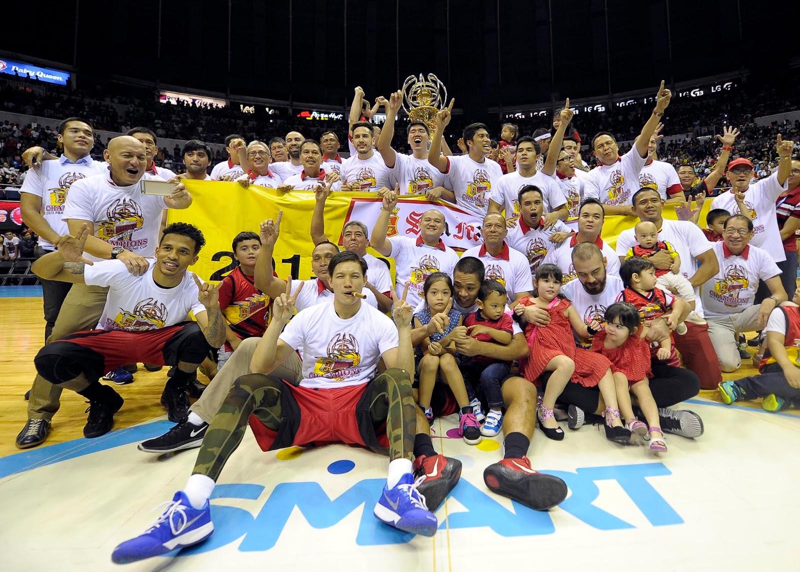 San Miguel ins 2014-15 PBA Philippine Cup Winner