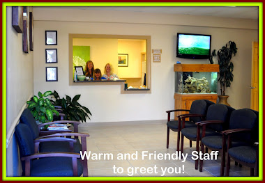 Our warm and friendly staff!