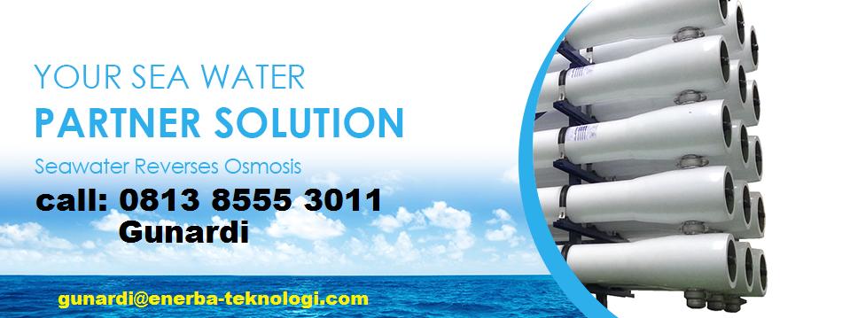 Jual Mesin RO / SWRO Industri, 081385553011 (Gunardi)