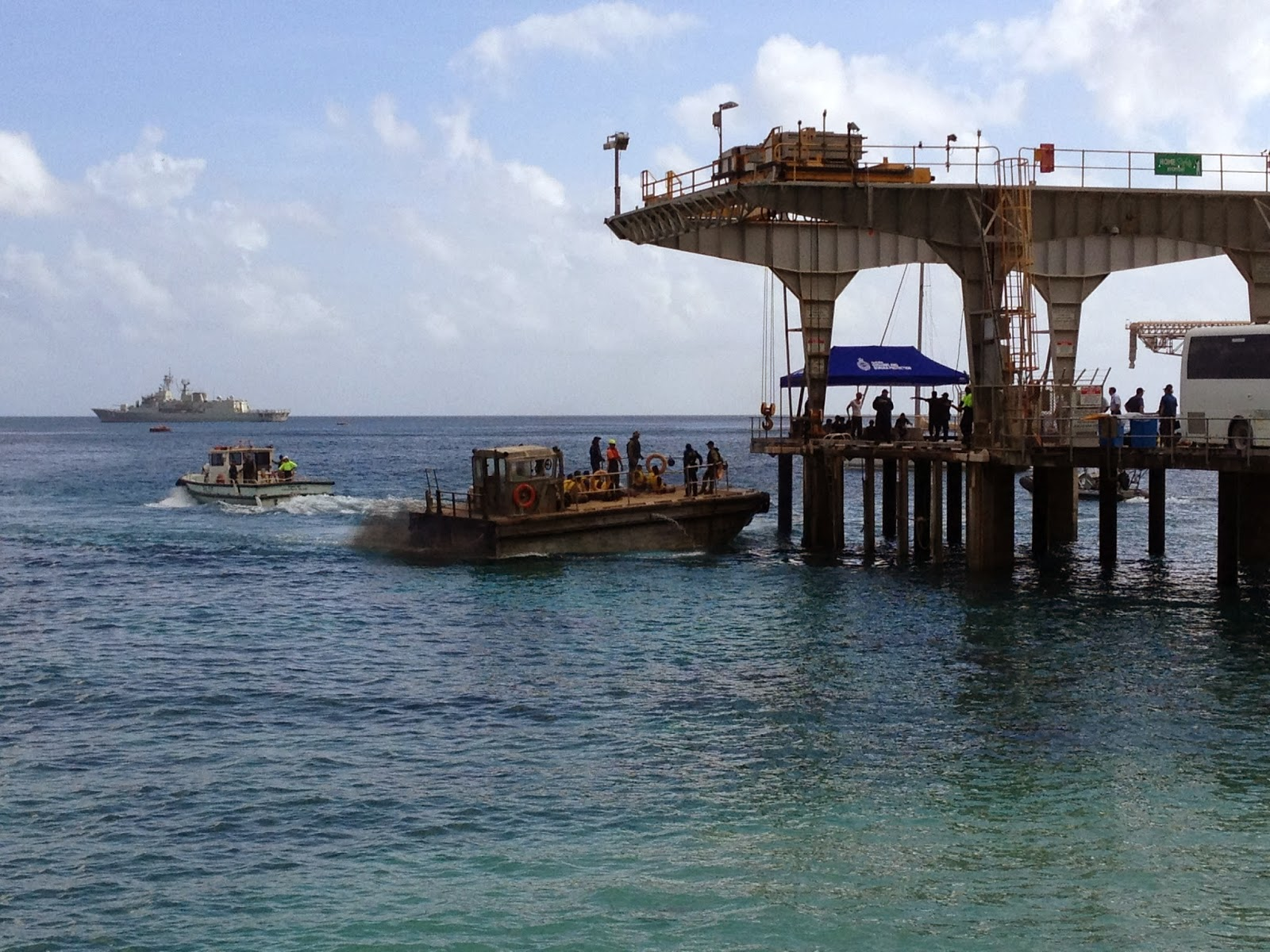 Container shipping at small, isolated Islands: Christmas Island