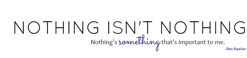 Nothing isn't nothing