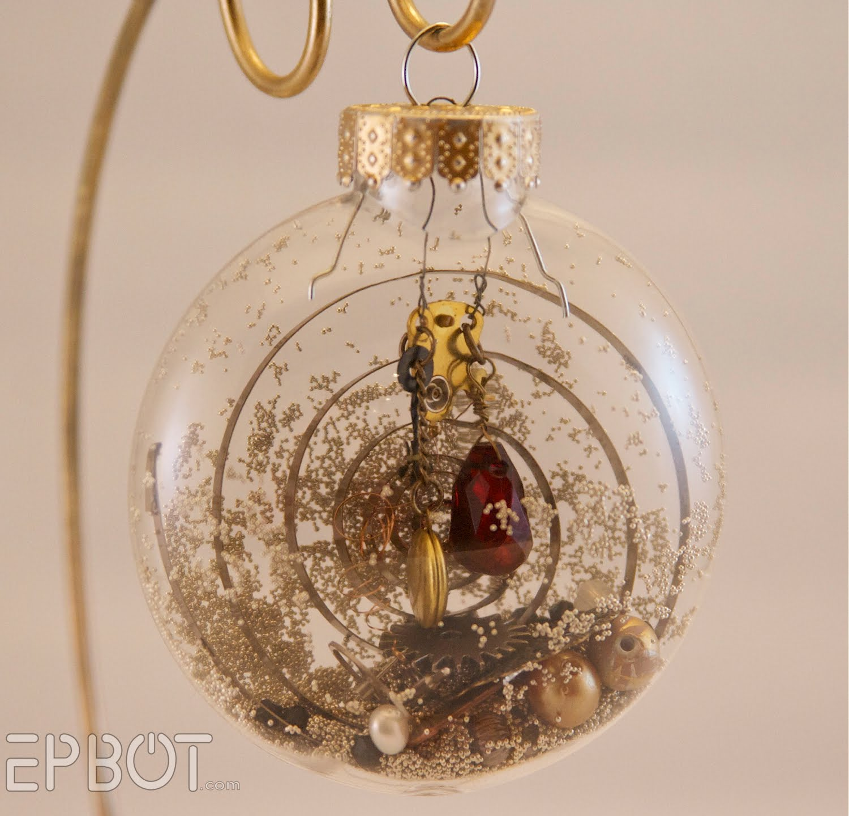 EPBOT: Inspiration File: Steampunk Christmas Ornaments!