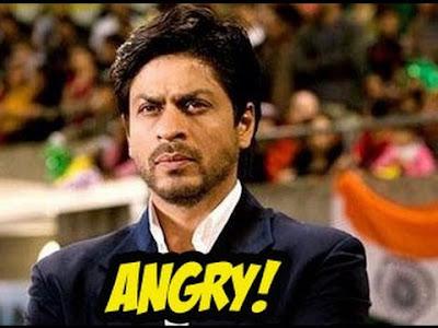shahrukh khan funny angry