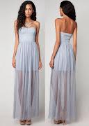 Vestidos largos para asistir a una boda 2011-2012