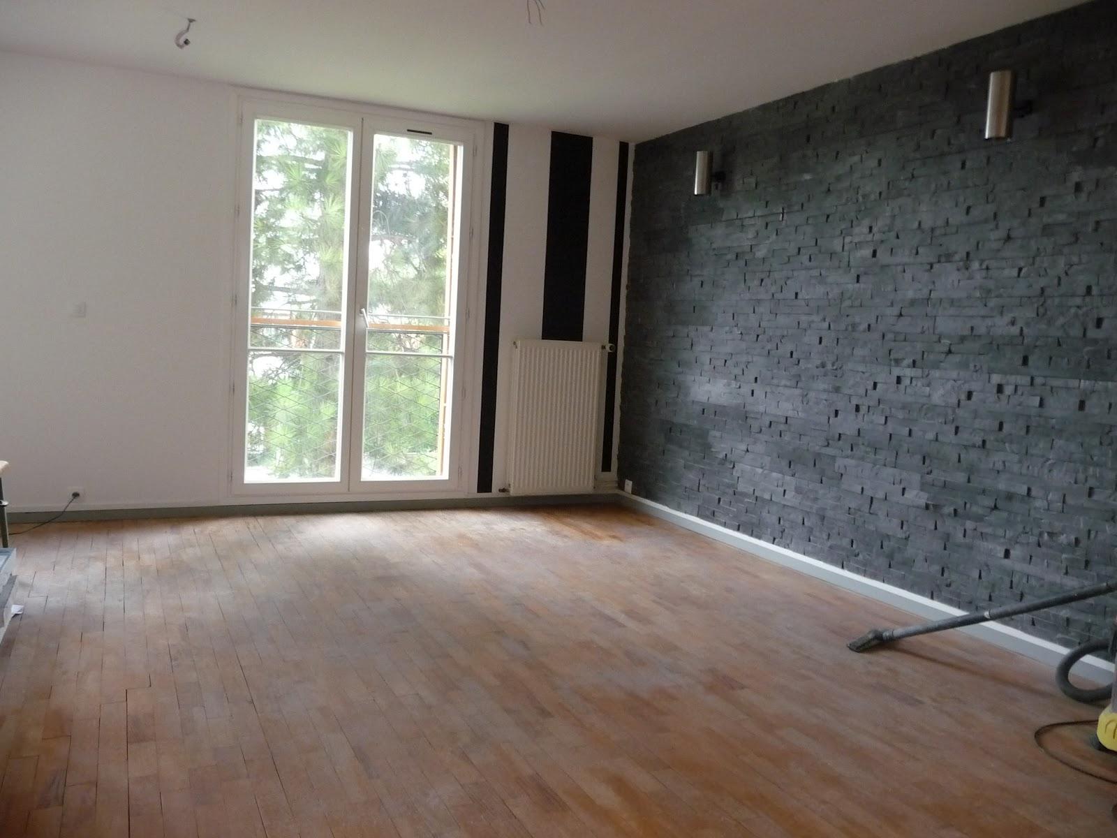 R novation d 39 un appartement salon salle manger avant for Renovation salle a manger