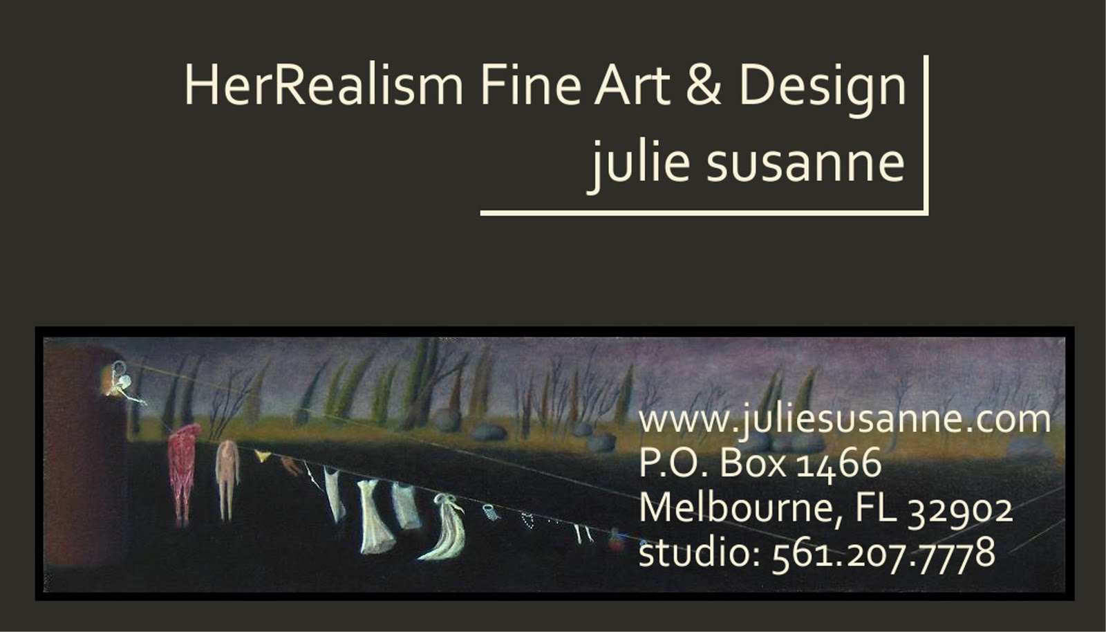 Beyond the artists way by julie susanne flaunt it business cards herrealism fine art and design business card draft colourmoves