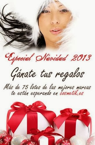 Sorteo de Navidad Cosmetik