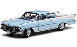 Oldsmobile Diecast Cars Sunstar 5242 1959 Oldsmobile 98 Hardtop 1/12th Scale Blue