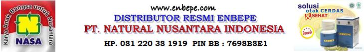 Kami Hanya Menjual Produk Asli PT. Natural Nusantara