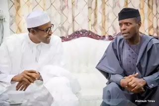 8 Reasons Why Osinbajo May Have Visited President Buhari In UK