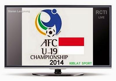 Jadwal & Siaran Langsung Timnas Indonesia U-19 Di Piala Asia 2014