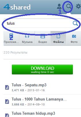 cara download lagu lewat hp
