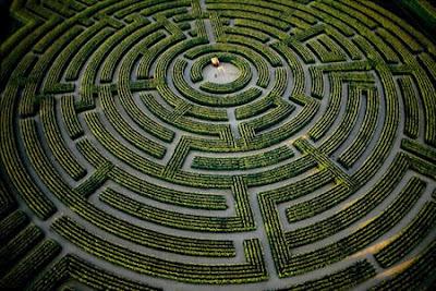 Reignac-sur-Indre Maze (France)