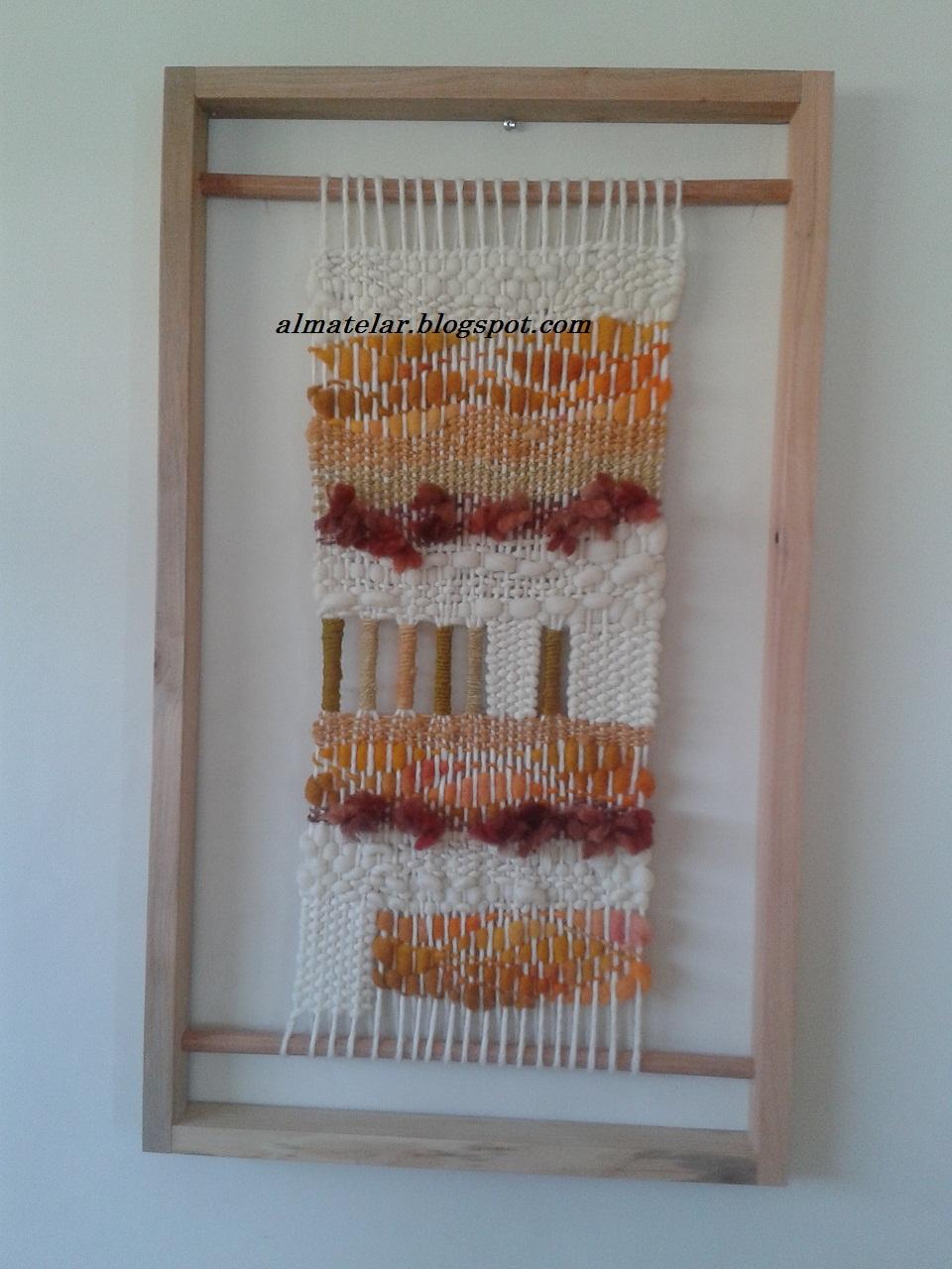 almatelar murales y tapices: telares enmarcados