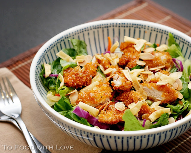 Applebees asian chicken salad