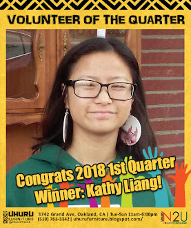 VOLUNTEER OF THE QUARTER, 1st Quarter 2018