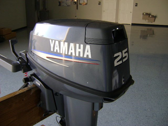 YAMAHA OUTBOARD MOTOR 25 HP 2 STROKE   INDONESIA ENGINEERING